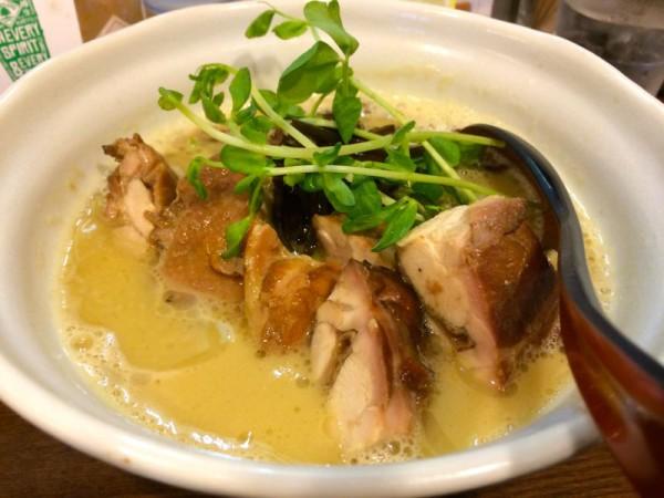しお鶏白湯キノコ